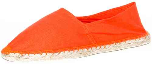 Espadrilles - orange - vollgummiert